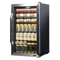 NewAir AB-1200X Premium Stainless Steel 126 Can Beverage Refrigerator and Cooler