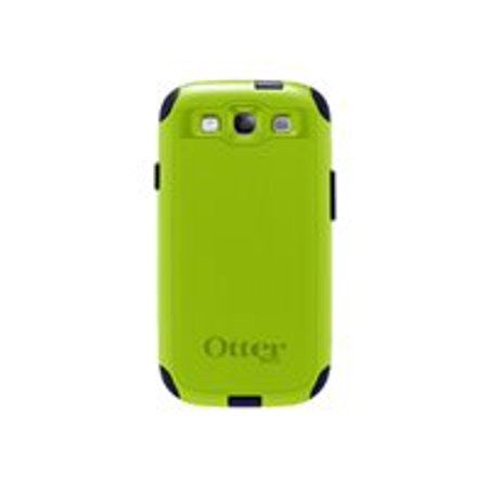 OtterBox Commuter Samsung GALAXY S III - Case for cell phone - silicone, polycarbonate - glow green, lake blue, atomic - for Samsung Galaxy S III ()