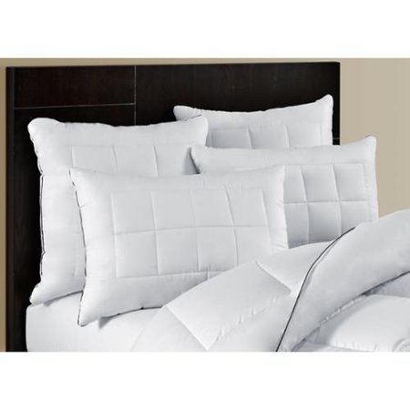 Maison luxe ultimate comfort silky touch feather and down layered pillow set of 2 for Maison luxe usa