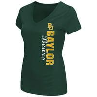 """Baylor Bears Women's NCAA """"Compulsory"""" Dual Blend Short Sleeve T-Shirt"""