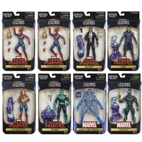 Hasbro Marvel Legends Captain Marvel Kree Sentry Case of 8 Action Figures
