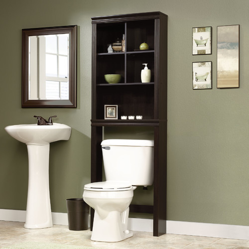 clear kitchen cabinets sauder peppercorn 23 31 w x 68 58 h the toilet 13644