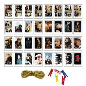 Fancyleo EXO TWICE New LOMO Cards New Fashion Self Made Paper Photo Card HD - Expo Photo