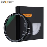 K&F CONCEPT 72mm 2-in-1 Variable Adjustable Filter Neutral Density Fader 5-Stop ND2-ND32 and CPL Circular Polarizing Filter Ultra-thin with Cleaning Cloth for Canon Sony Nikon Camera Lens