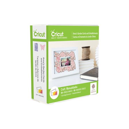 2002861 Anna's Garden Cards & Embellishments Cricut Shape Cartridge, Multicolor, This everyday cartridge features embellishment images By Provo Craft from USA
