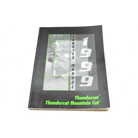 Arctic Cat 2255 943 99 Thundercat Mountain Service Manual QTY 1