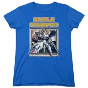 Atari Missle Commander Womens Short Sleeve Shirt