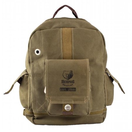 Little Earth Productions 750703-GRIZ-OLIV Memphis Grizzlies Prospect Backpack Olive by