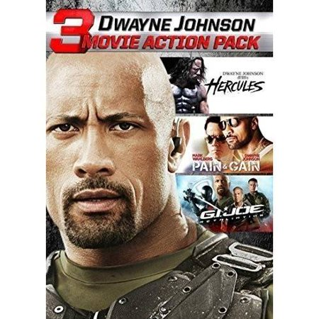 Dwayne Johnson Action Collection  Dvd