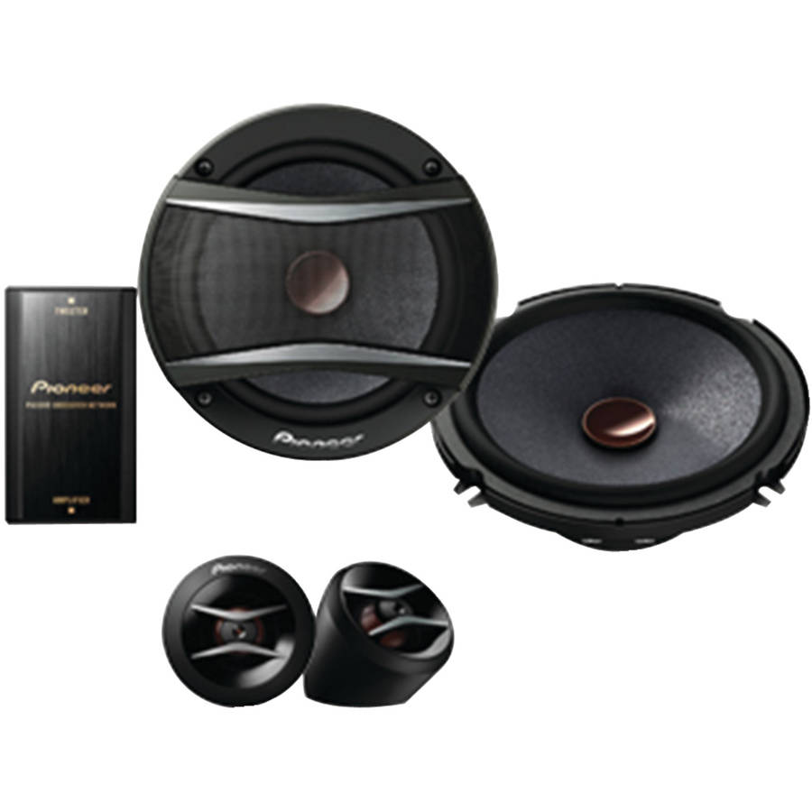 "Pioneer TS-A1606C 6.5"" A-Series 350-Watt Component Speakers"