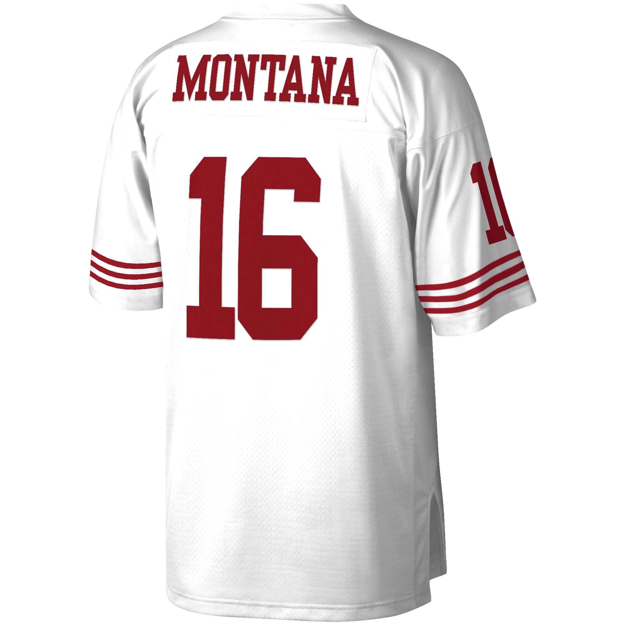 online store e786b bfe6d Joe Montana San Francisco 49ers Mitchell & Ness Retired Player Vintage  Replica Jersey - White