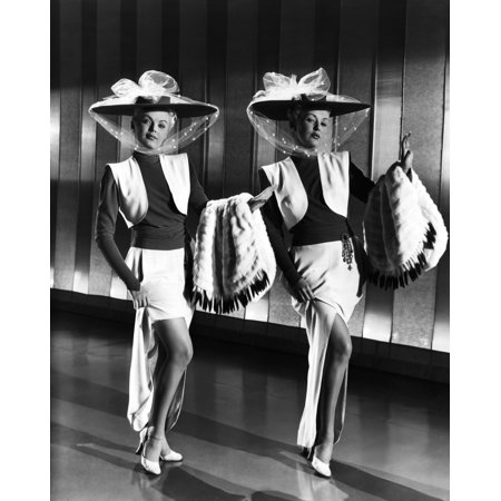 The Dolly Sisters June Haver Betty Grable 1945 Tm And Copyright 20Th Century Fox Film Corp All Rights Reserved  Courtesy Everett Collection Photo Print