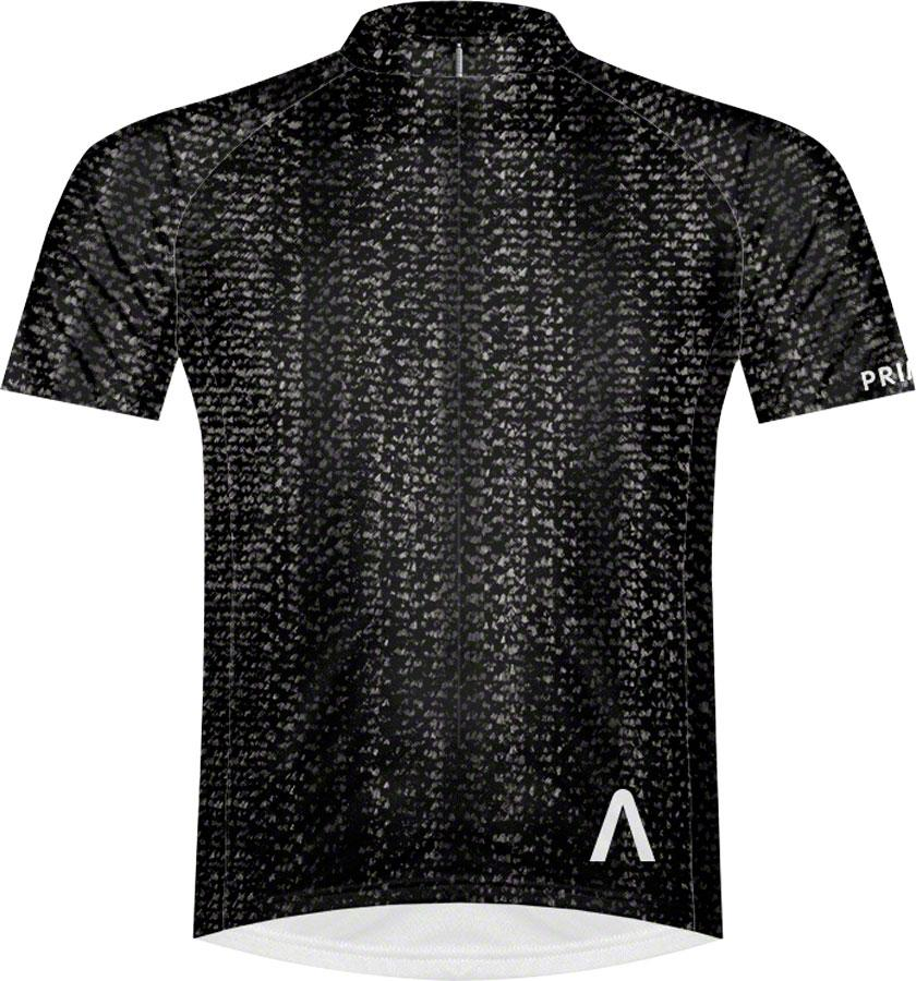 Primal Wear Swerved Men's Cycling Jersey: Black, 2XL