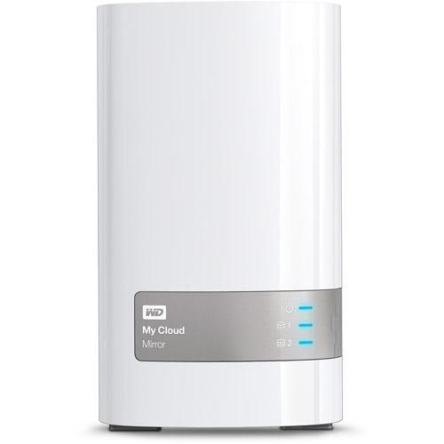 WD My Cloud Mirror Personal Cloud Storage, 6TB