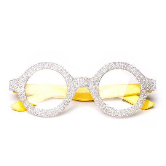 d59aa10c9b10 Kyra Costume Glitter Minion Despicable Me Glasses - Walmart.com