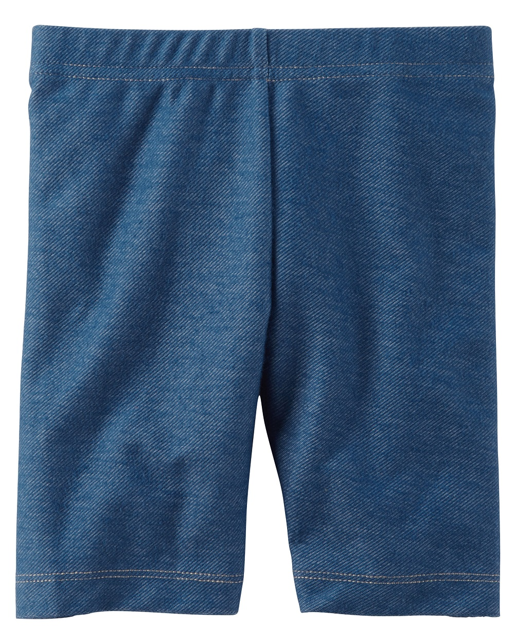 Carter's Baby Girls' Denim Biker Shorts, 3 Months