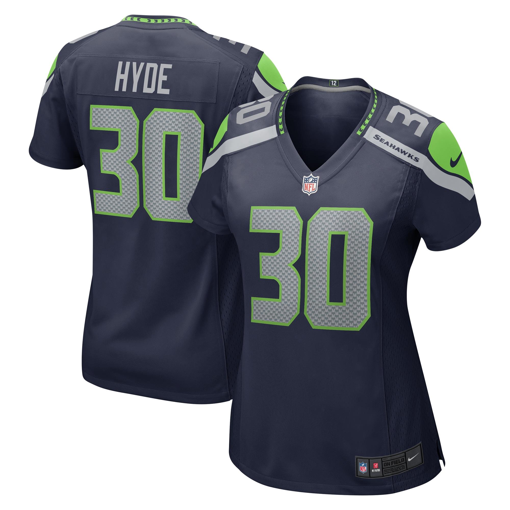 Carlos Hyde Seattle Seahawks Nike Women ...
