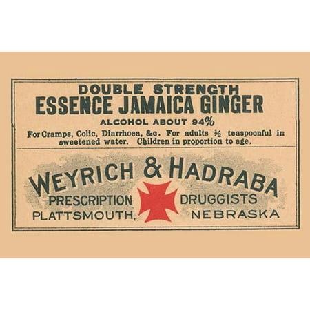 Double Strength Essence Jamaica Ginger-Fine Art Canvas Print (20