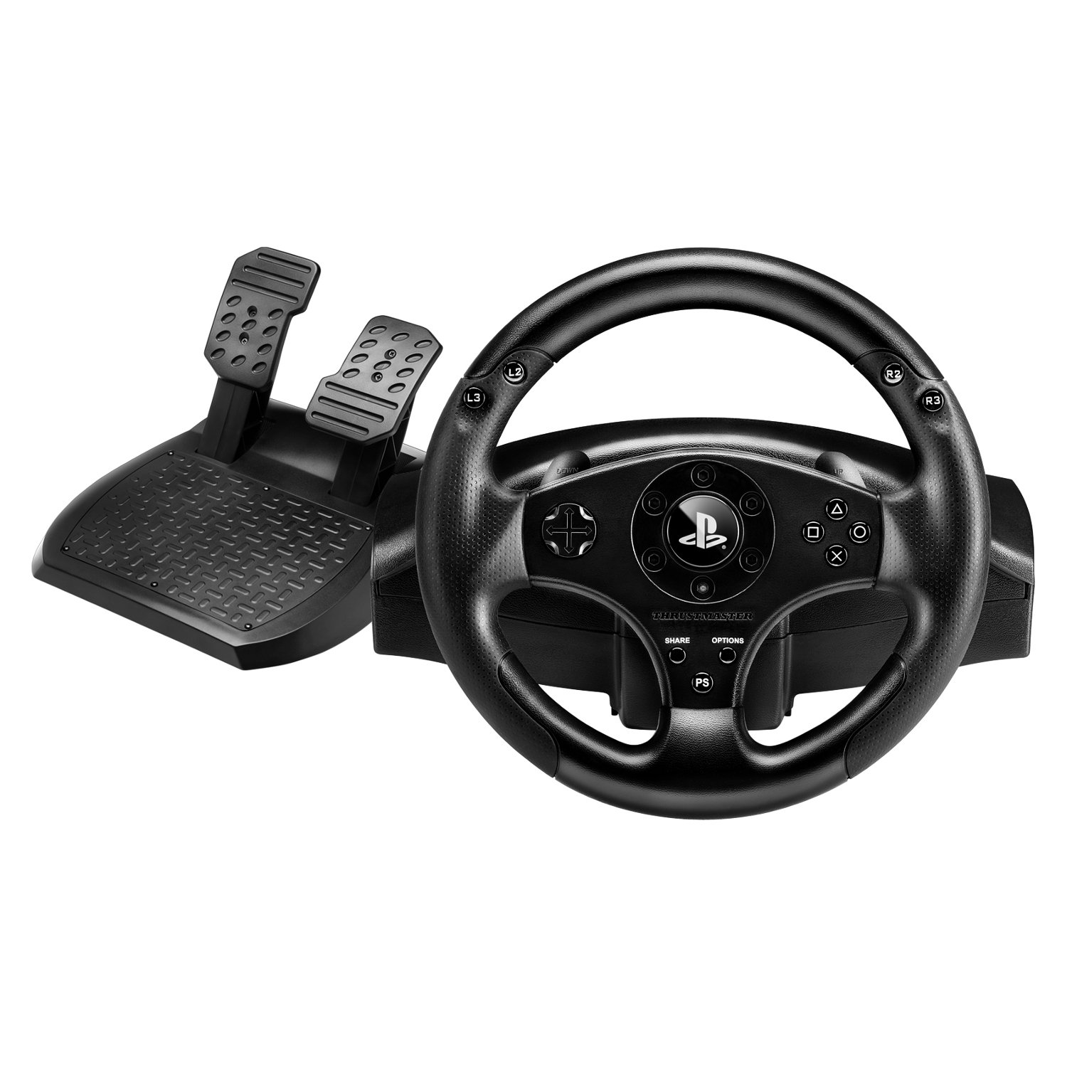 Thrustmaster T80 Playstation 4 Officially Licensed Racing Wheel, 4169071 by Guillemot