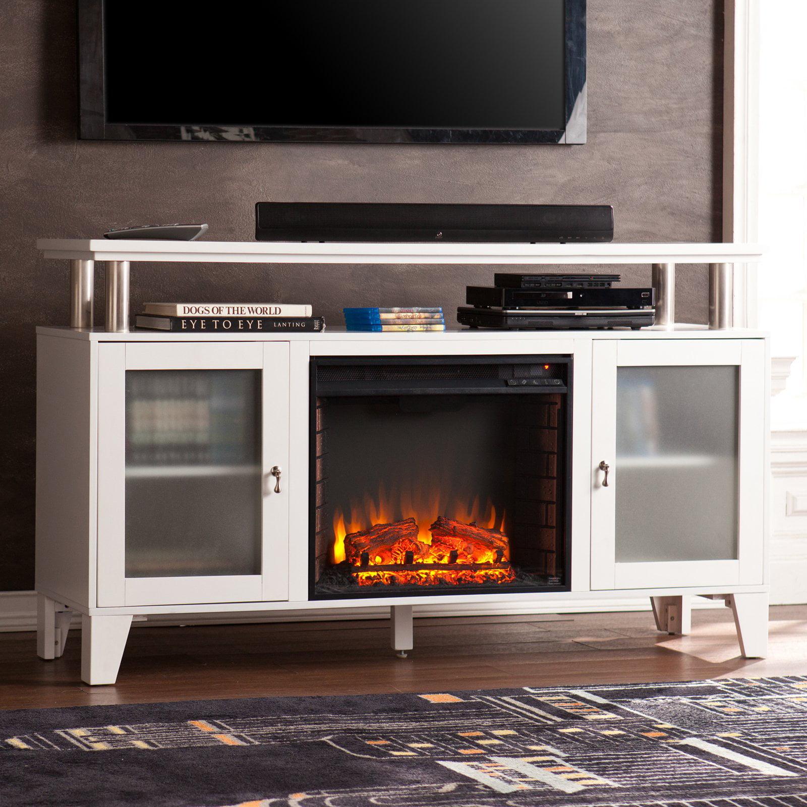 Southern Enterprises Cabrini Electric Media Fireplace