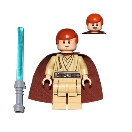 LEGO Minifigure - Star Wars - OBI-WAN KENOBI with Lightsaber (Lego Obi Wan Kenobi)