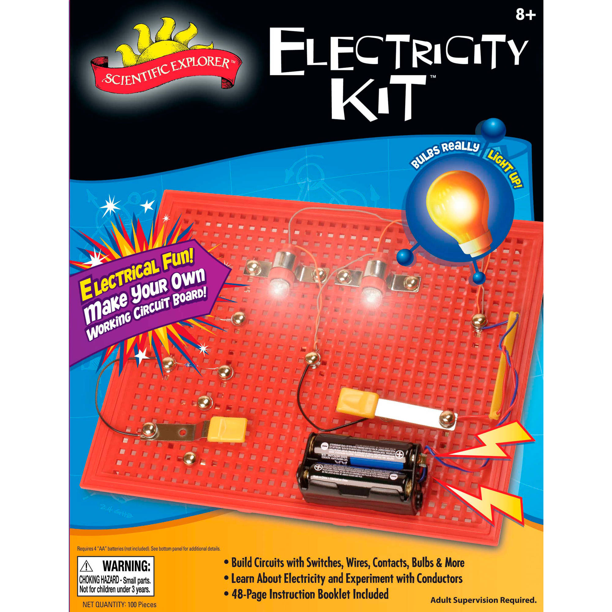 Scientific Explorer Space Theater Planetarium Electrical Circuit Kids