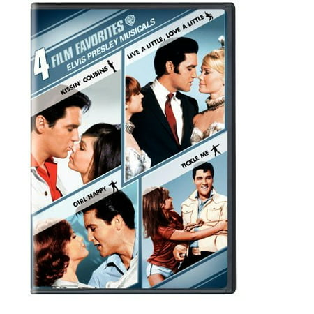 4 Film Favorites  Elvis Presley Musicals