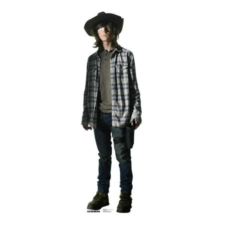 Carl Grimes - The Walking Dead Lifesize Standup Standee Cardboard Cutout - Athf Carl