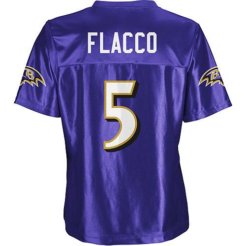 NFL - Women's Balitmore Ravens #5 Joe Flacco Jersey