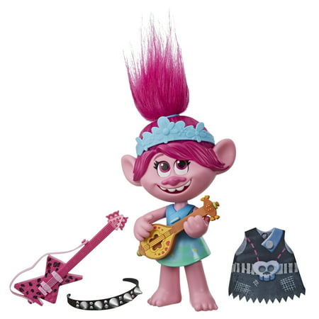 DreamWorks Trolls World Tour Pop-to-Rock Poppy, for Ages 4+