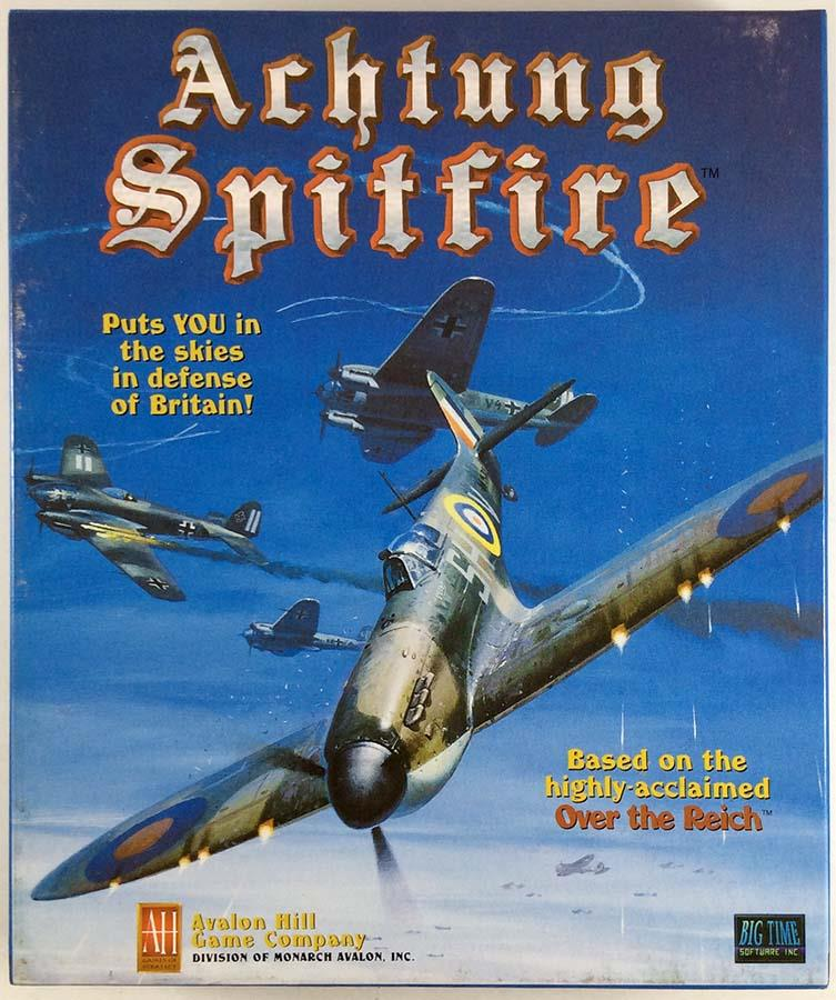 Achtung Spitfire Great Condition by Avalon Hill