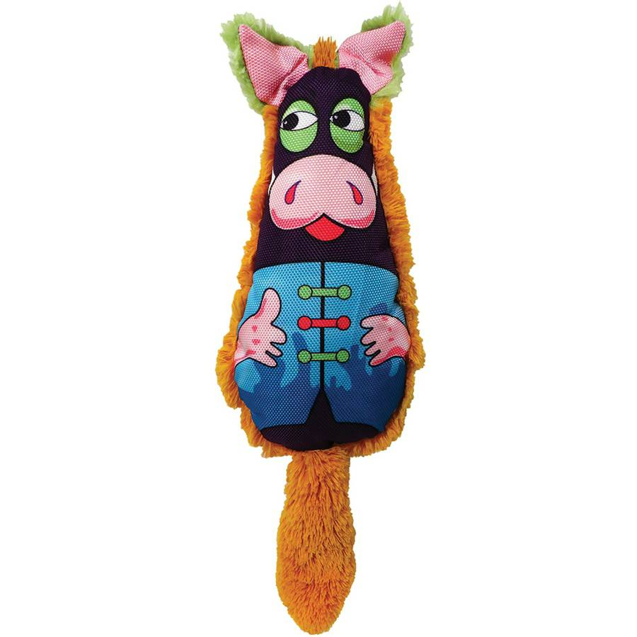 Plush Full Belly Pig Dog Toy, 15""
