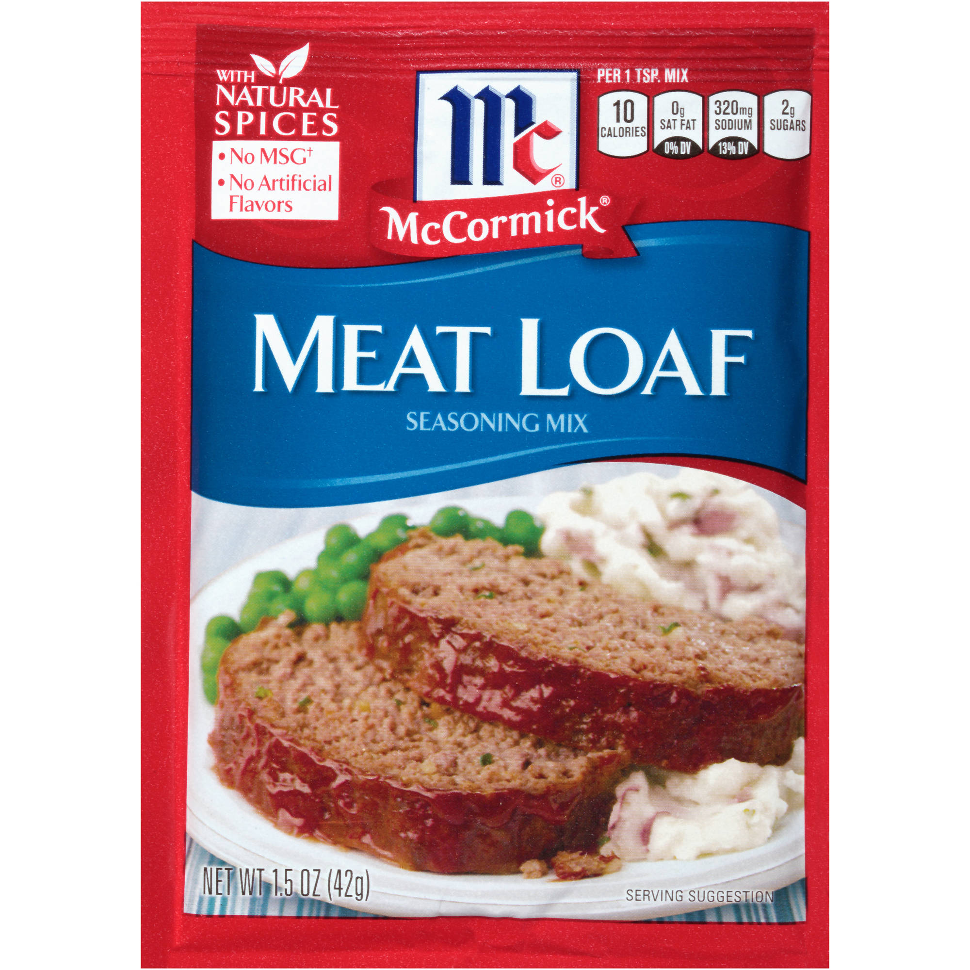 McCormick Meat Loaf Seasoning Mix, 1.5 oz