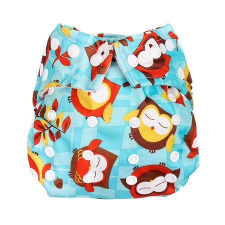 Bumkins Snap in One Diaper, Owl Bumkins All In One Diapers