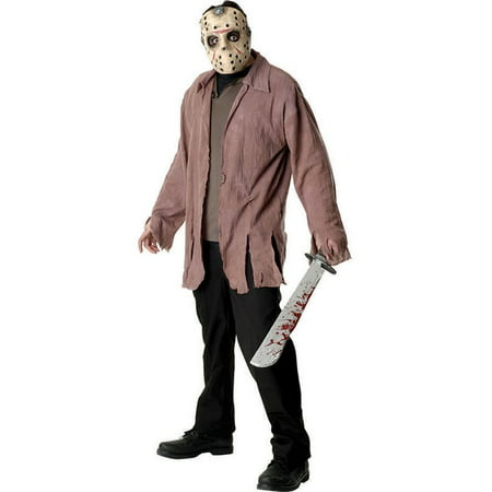 Men's Jason Voorhees Friday the Thirteenth Costume](Friday The 13th Halloween Costumes)