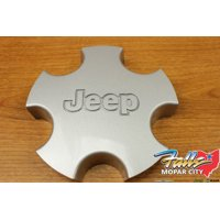 2001-2004 Jeep Grand Cherokee Silver Wheel Center Hub Cap Cover Mopar OEM