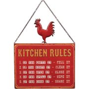 Wilco Home Kitchen Rules Wall D cor