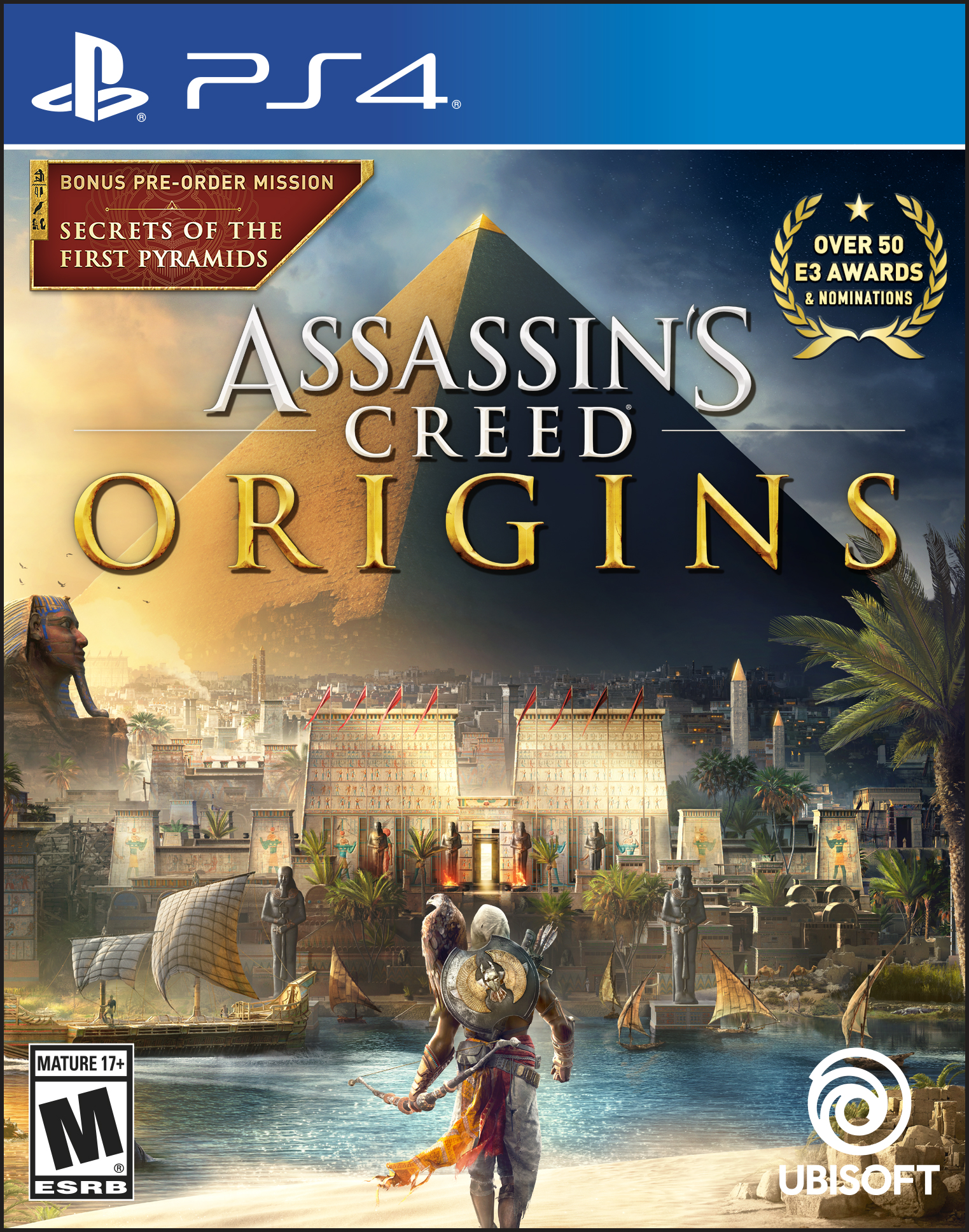 Assassin's Creed: Origins Day 1 Edition, Ubisoft, PlayStation 4, 887256028428 by Ubisoft