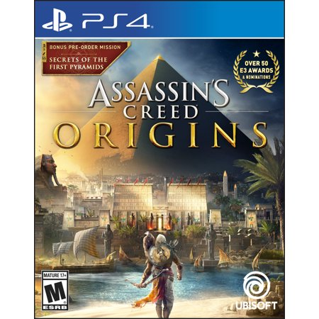 Assassin's Creed: Origins Day 1 Edition, Ubisoft, PlayStation 4, 887256028428 - Assassin's Creed Edward Kenway
