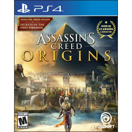 Assassin's Creed: Origins Day 1 Edition, Ubisoft, PlayStation 4, 887256028428](Assassin Creed Cloak)