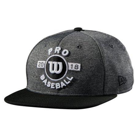 - Wilson 2018 Pro Spring Training Hat Baseball Cap Hat Snapback WTA7105BGOSFM