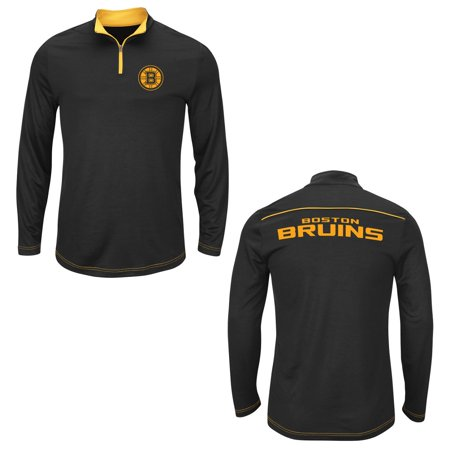 Synthetic Fill Jackets (Boston Bruins Black Ready & Willing 1/4 Zip Synthetic)