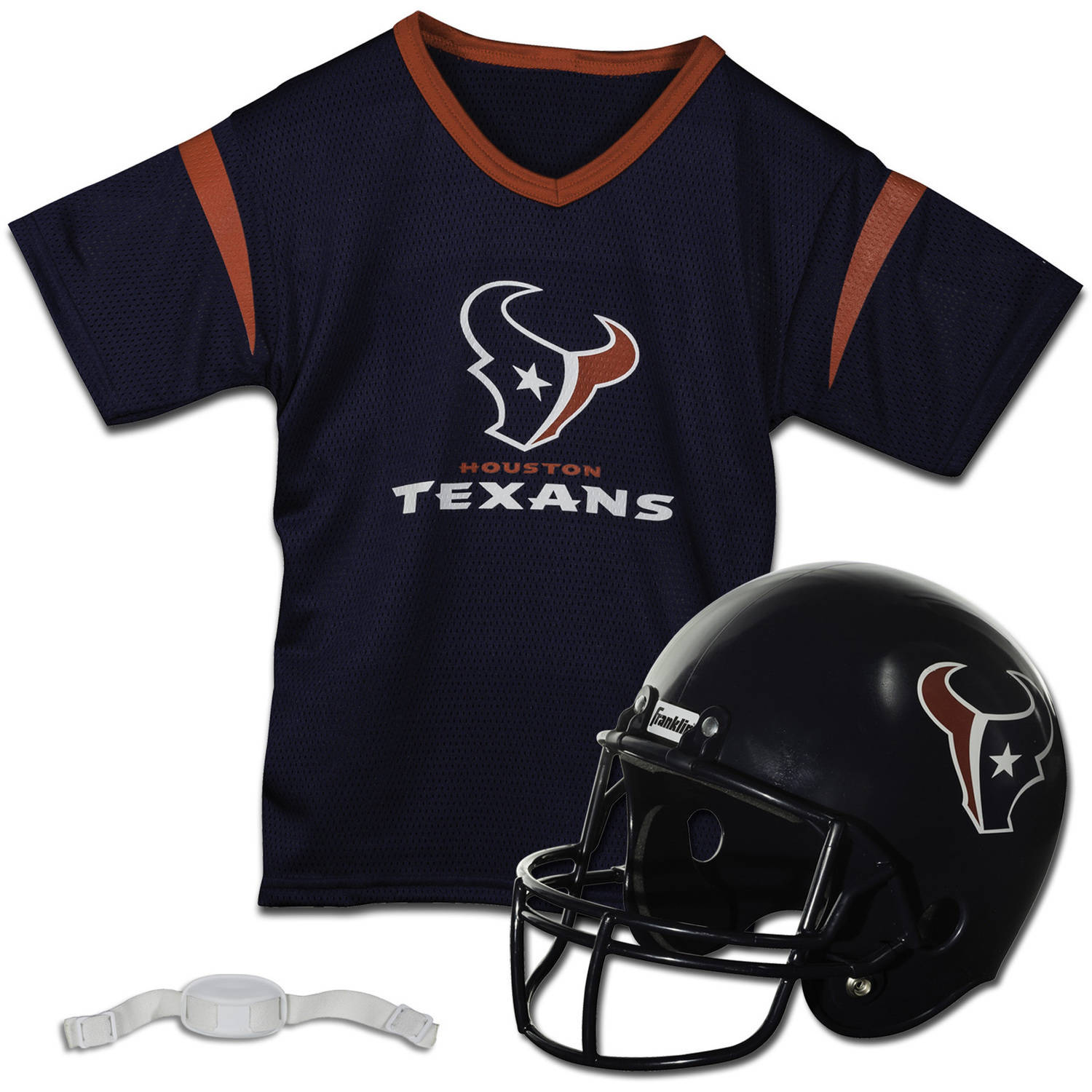 Franklin Sports NFL Houston Texans Team Licensed Helmet Jersey Set -  Walmart.com d9aae1d92