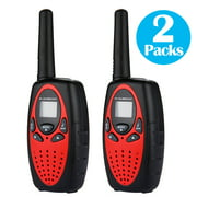 Walkie Talkies 22 Channels 2 Way Radio 3 Miles (Up to 5 Miles) FRS/GMRS Toy for Kids 2 Pack