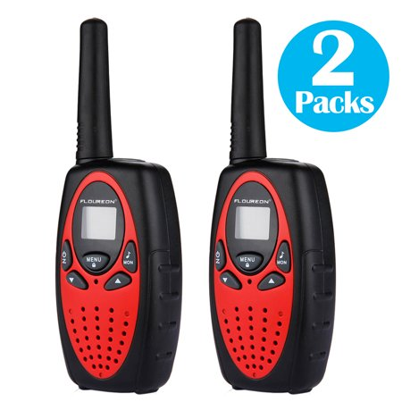 Walkie Talkies 22 Channels 2 Way Radio 3 Miles (Up to 5 Miles) FRS/GMRS Toy for Kids 2 Pack 2 Line 3 Way
