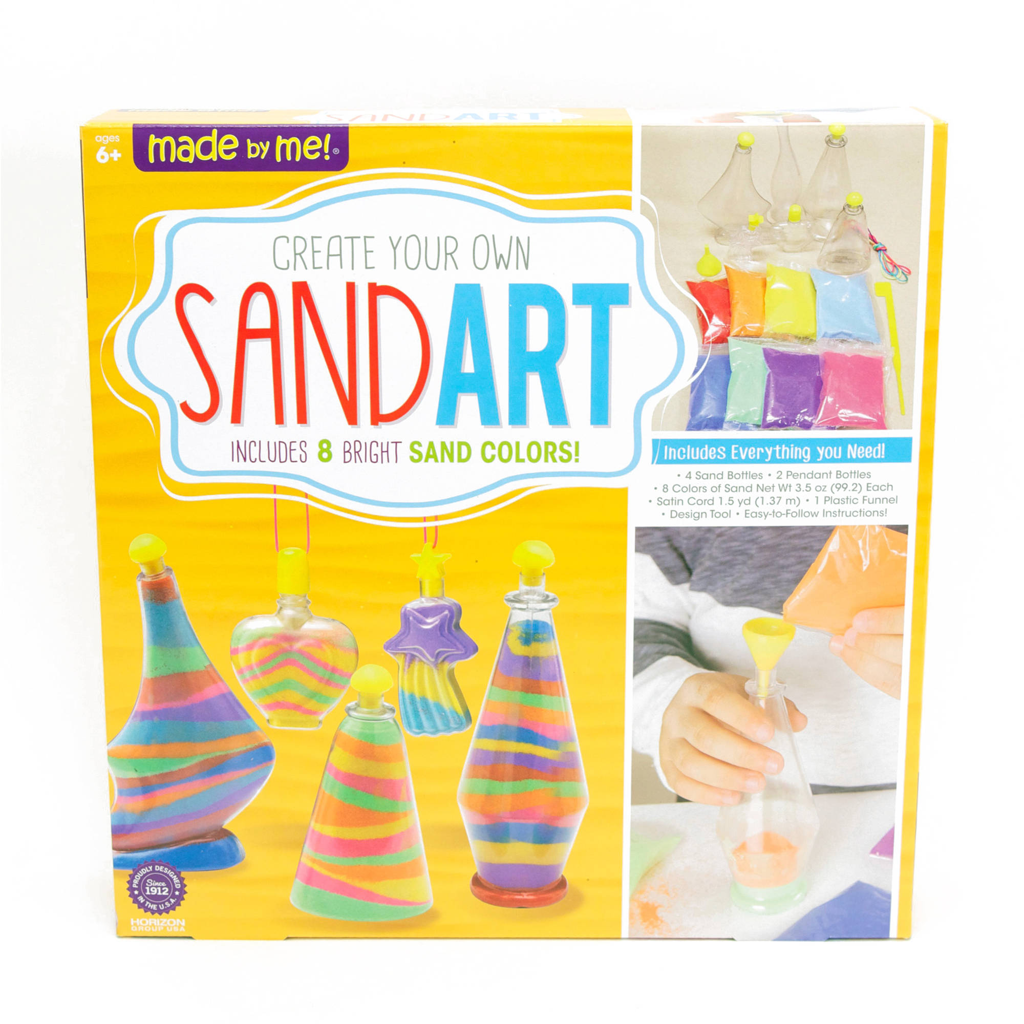 Made by Me Sand Art Activity Kit by Horizon Group USA