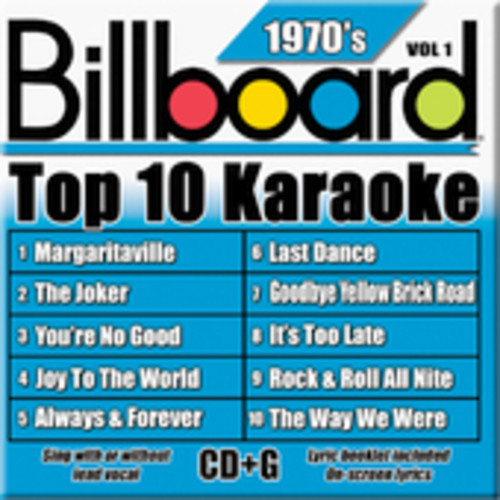 Billboard Top 10 Karaoke: 1970's by