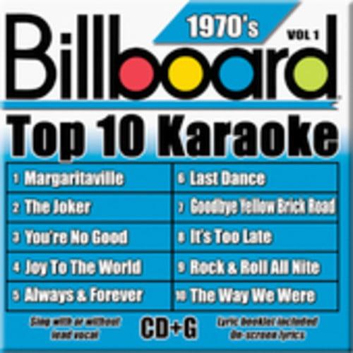Billboard Top 10 Karaoke: 1970's