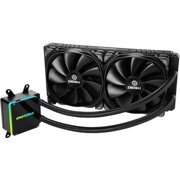 Enermax LIQTECH TR4 II 280 Cooling Fan/Radiator - 2 x 140 mm - 1500 rpm - 2 x 80.7 CFM - 25 dB(A) Noise - Liquid Cooler Cooler - Twister Bearing, Ceramic Nano PI Bearing - 4-pin PWM - Socket TR4, Sock