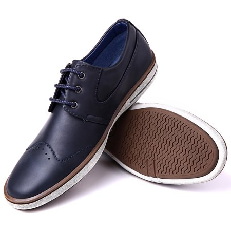 3631a6274039 Mio Marino - Mio Marino Mens Dress Shoes - Fashion Casual Oxford Shoes for  Men - Walmart.com